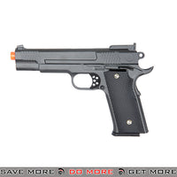 "UKARMS G20 9"" 1911 Heavy Weight Metal Replica Spring Pistol - Black Air Spring Pistols- ModernAirsoft.com"