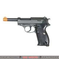 UKARMS G21 P38 Heavy Weight Metal Replica Spring Pistol - Black Air Spring Pistols- ModernAirsoft.com