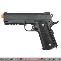 Galaxy G25B Hi Capa Heavy Weight Metal Replica Spring Pistol- Black Air Spring Pistols- ModernAirsoft.com