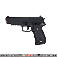 Galaxy G26B P226 Heavy Weight Metal Replica Spring Pistol - Black Air Spring Pistols- ModernAirsoft.com