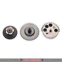 Lonex 16:1 Enhanced High Speed Reinforced Steel Straight Cut V2 V3 V6 Gear Set Gears- ModernAirsoft.com