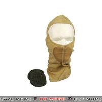 G-Force Tactical Balaclava w/ Integrated Mouth Guard - Tan Head - Hats- ModernAirsoft.com