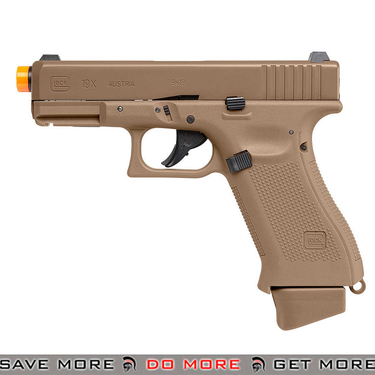 Elite Force Fully Licensed GLOCK 19X Gas Half-Blowback CO2 Airsoft Pistol