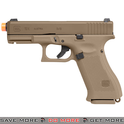 Elite Force Fully Licensed Glock 19x Gas Blowback Airsoft Pistol by VFC