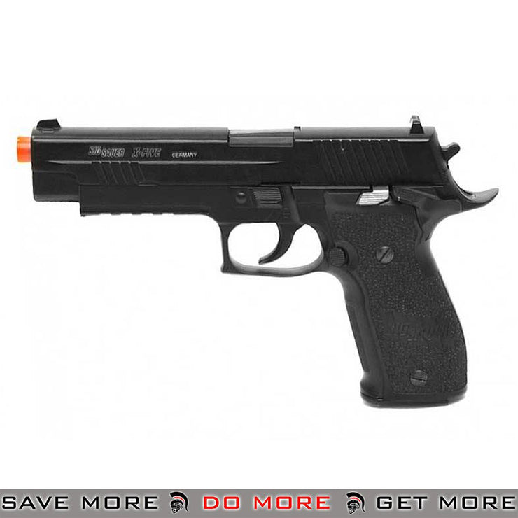 Cybergun Licensed KWC Sig Sauer P226 X-FIVE Full Metal CO2 GBB Airsoft Blowback CO2- ModernAirsoft.com