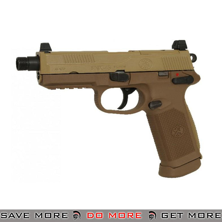 FN Herstal FNX-45 Tactical Airsoft Gas Blowback Pistol