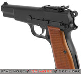 "WE WWII Full Metal ""Hi-Power"" Gas Blowback Airsoft Gun WE / CQB Master- ModernAirsoft.com"