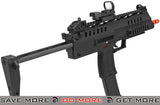 WE-Tech SMG-8  Airsoft GBB Sub Machine Gun - Black WE / CQB Master- ModernAirsoft.com