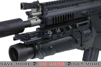WE-Tech FN Licensed Black Full Metal SCAR EGLM GBB Gas Blowback Grenade Launchers- ModernAirsoft.com
