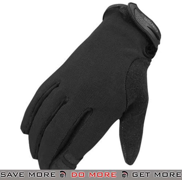 Condor Large Black Shooter Tactical Gloves Gloves- ModernAirsoft.com