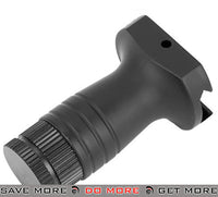 AIM Sports Stubby Vertical Tactical Grip with Extra Battery Compartment Vertical Grips- ModernAirsoft.com