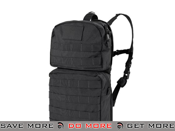 Condor MOLLE Water Hydration Carrier II (Color: Black) Black Pouches- ModernAirsoft.com