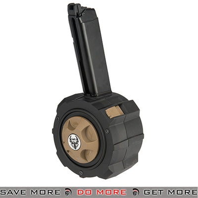HFC GBB Drum Mag for TM and WE G-Series Airsoft Gas Blowback Pistol