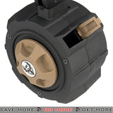 HFC GBB Drum Mag for TM and WE M9 Series Airsoft Gas Blowback Pistol