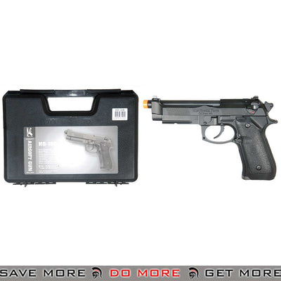 HFC Fully Automatic Select Fire M9 Vertex Gas Blowback Airsoft Pistol