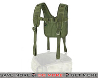 Condor OD Green MOLLE H-Harness Chest Rigs & Harnesses- ModernAirsoft.com