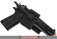 Condor Hook & Loop Universal Wrap-Around Holster (Black) Holsters - Fabric- ModernAirsoft.com