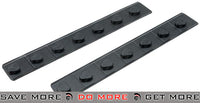 ICS Rubber Keymod Rail Covers - Set of 2 Rail Accessories- ModernAirsoft.com
