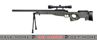 AGM Bolt Action Sniper Rifle w/ Scope & Bi-pod OD Green Bolt Action Sniper Rifle- ModernAirsoft.com