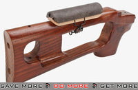 AIM Top SVD Dragunov High Grade  Real Wood Handguard & Stock Kit with Cheek Pad Conversion Kits- ModernAirsoft.com