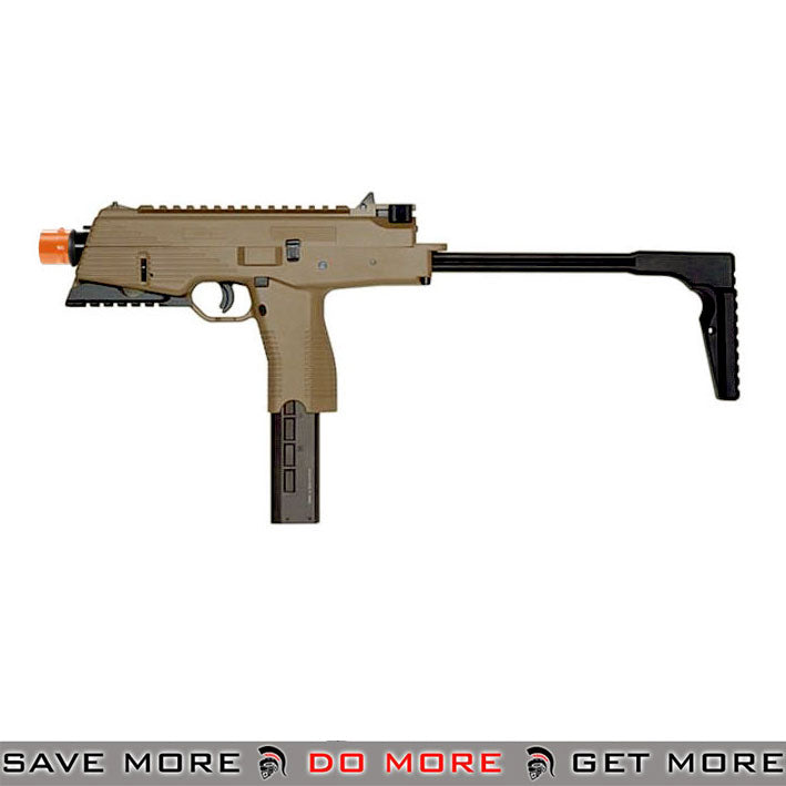 KWA Railed KMP9 New Version GBB Airsoft SMG Gun - ModernAirsoft.com