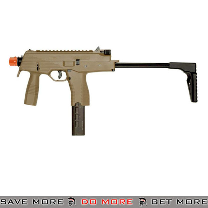 KWA KMP9 Gas Blowback Airsoft Submachine Gun Tan - ModernAirsoft.com