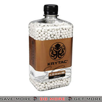 Krytac 0.20g Polished 6mm Airsoft BBs 4000 White