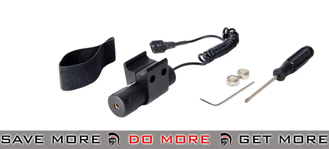 Double Eagle LA30 Adjustable Tactical Laser Accessories- ModernAirsoft.com