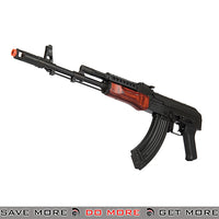 LCT Airsoft G-03 NV Full Metal AEG W/ Real Wood  - Black Airsoft Electric Gun- ModernAirsoft.com