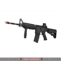 LCT Airsoft RAS M4 EBB Carbine Assault Rifle - Black Airsoft Electric Gun- ModernAirsoft.com