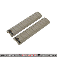 LCT Airsoft 15-Slot Handguard RIS Rail Cover Panels Set LCT-M-100 - 2 pcs, Tan Rail Accessories- ModernAirsoft.com