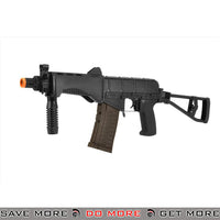 LCT Airsoft SR-3M Vikhr Assault Rifle AEG w/ Foldable Foregrip - Black Airsoft Electric Gun- ModernAirsoft.com