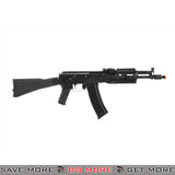LCT Airsoft AK-102 Assault Rifle AEG w/ Folding Stock - Black Airsoft Electric Gun- ModernAirsoft.com