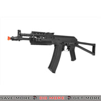 LCT Airsoft AK-105 Assault Rifle AEG w/ Folding Stock - Black Airsoft Electric Gun- ModernAirsoft.com