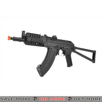 LCT Airsoft AK 74 Assault Rifle AEG w/ TX Railed Handguard - Black Airsoft Electric Gun- ModernAirsoft.com