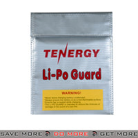 Tenergy Airsoft LIPO SAFE Bag Lipoly Battery Charging Container Bag - LIPO-SACK