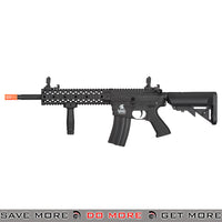 Lancer Tactical Gen. 2 Evo Polymer M4 Airsoft AEG Rifle LT-12B-G2 - Black Airsoft Electric Gun- ModernAirsoft.com