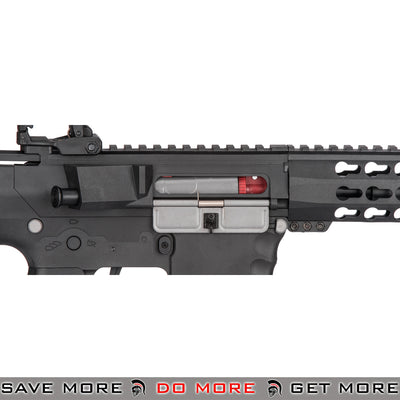 Lancer Tactical Gen. 2 Low Power CQB Legal Keymod Evo Polymer M4 Airsoft AEG Rifle LT-12BKL-G2 - Black Airsoft Electric Gun- ModernAirsoft.com