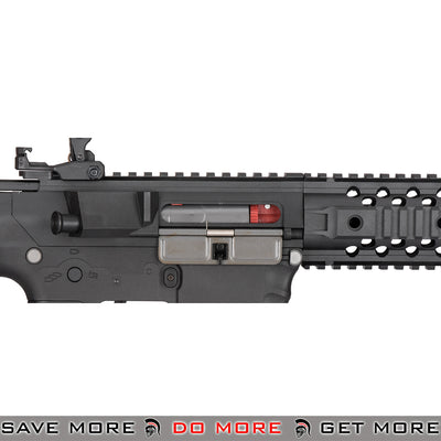 Lancer Tactical Gen. 2 Low Power CQB Legal Evo Polymer M4 Airsoft AEG Rifle LT-12BL-G2 - Black Airsoft Electric Gun- ModernAirsoft.com