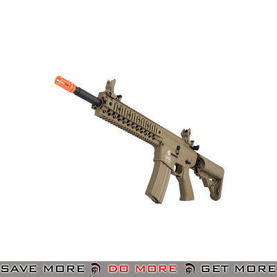 Lancer Tactical Gen. 2 Low Power CQB Legal Evo Polymer M4 Airsoft AEG Rifle LT-12TL-G2 - Tan Airsoft Electric Gun- ModernAirsoft.com