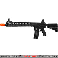 "Lancer Tactical LT-14A 15"" Keymod Rail M4 Airsoft AEG Rifle - Black"