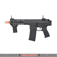 Lancer Tactical Warlord 8 Inch Keymod Stockless AEG Carbine [ LT-200BC ] - Black