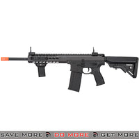 Lancer Tactical Warlord 10.5 Inch Crane Stock Keymod AEG Carbine [ LT-201BBL ] - Black, Low Power