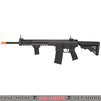 Lancer Tactical Warlord 18 Inch Crane Stock Keymod AEG Carbine [ LT-202BB ] - Black