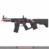 Lancer Tactical Enforcer NEEDLETAIL Skeleton AEG - BLACK/PURPLE