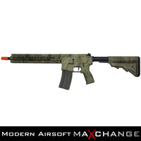 "MaxChange Open Box/Refurbished DYTAC MK5 SMR 10.5"" BLACK JACK M4 AIRSOFT CARBINE AEG CARBINE RIFLE LT-331C - MULTICAM"