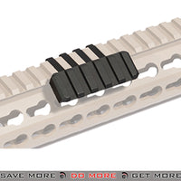 Lancer Tactical Airsoft Metal Side Mount Picatinny Accessory Rail - CA-468B