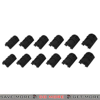 Lancer Tactical Airsoft Rubber Rail Cover 12pc Set - AC-910B