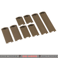Lancer Tactical Diamond Plate Airsoft Rail Cover 8 Piece Set - AC-427T