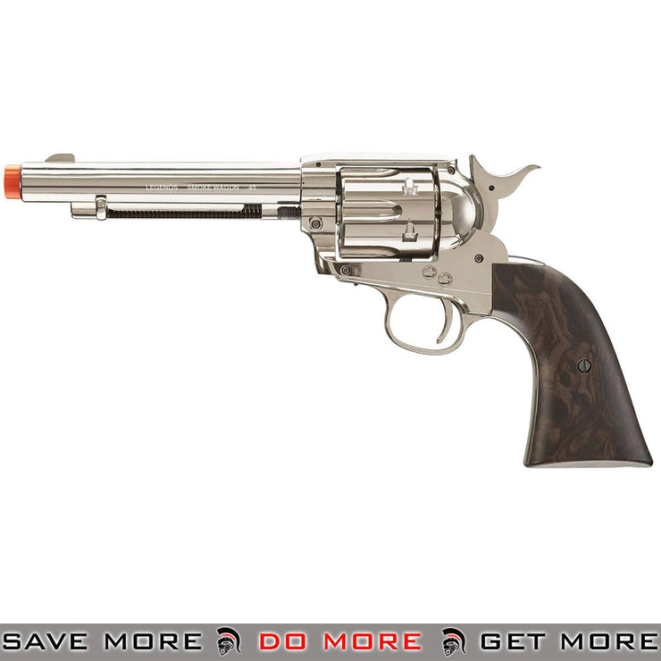 Elite Force Legends Smoke Wagon CO2 Powered Airsoft Revolver (Nickel)